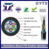 Faisceaux extérieurs GYTS de la fibre 48 de câble optique de conduit d'Amored