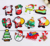 Magnete del frigorifero di Hight di qualità del PVC su ordinazione di natale/Babbo Natale (YB-FM-448)