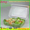 Cuadro de la bandeja de plástico PET transparente para el Envasado de Frutas y verduras