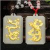 Золото Нефритовый Дракон и феникс соответствующие части