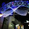Xmas 훈장 삼각형 LED 순수한 가벼운 휴일 훈장