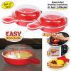 Fornello di plastica Eggwich facile della focaccina dell'uovo di microonda