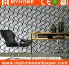 Decoración impermeable del papel pintado del hogar de la manera del diseño moderno del PVC