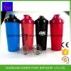 Fabriek Gemaakte pp Materiële Bap de Plastic Flessen van het Water met Schudbeker 600ml