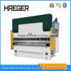 Máquina plegable hidráulica de la placa de acero Wc67y-63X2500