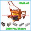 ディーゼル機関の移動煉瓦機械、卵の定温器のブロック機械