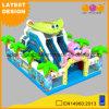Giocattolo gonfiabile del gioco della trasparenza del Bouncer dell'acquario per i capretti con il prezzo poco costoso (AQ01748)