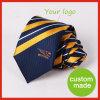 Cravatta in poliestere su misura su misura con logo