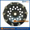 Le diamant usine la roue de meulage de cuvette de segment de flèche pour la maçonnerie en pierre en béton de brique