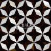 Azulejo de mosaico de agua dulce del Rhombus del shell y del shell de la pluma