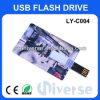 Disque par la carte de crédit du prix de gros 2GB Bussiness du bâton fait sur commande USB de flash USB
