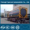 Behälter-Becken-Schlussteil des 40FT Behälter-40000liter chemischer