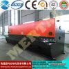 Máquina de corte 10*6000mm da placa hidráulica quente da guilhotina do CNC