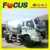 工場Price 4X2 4cbm Small Concrete Truck Mixer