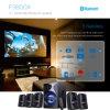 5.1 Heimkino Fernsehapparat-Einfassung - fehlerfreier Lautsprecher mit USB Bluetooth Fernsteuerungs-LED