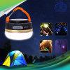 Lampada di campeggio esterna portatile del LED con l'indicatore luminoso di campeggio di emergenza della Banca 5200mh di potere dell'amo