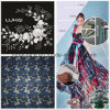 En nylon/spandex poly/Fashion brodé Tissu pour vêtement robe dentelle Textile
