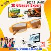 Vidros 3D polarizados circulares dos vidros passivos coloridos grossos por atacado do cinema 5D 3D dos frames dobro para miúdos