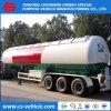 2/3 acoplado del tanque del árbol 40000L 50000L 56000L LPG