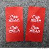 Impressão de fundo vermelho de alta qualidade Sew Label
