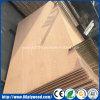 La ceniza de Bintangor Oukoume hizo frente a la madera contrachapada para los muebles del embalaje