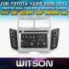 Reprodutor de DVD de WITSON Car para Toyota Yaris com o Internet DVR Support da ROM WiFi 3G do chipset 1080P 8g