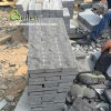 La Mongolia Black Granite e Basalt Paving Stone Natural Split