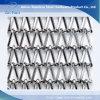 Malla de alambre de acero inoxidable fachada decorativa para el propósito de la arquitectura /