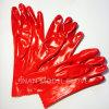 Перчатка индустрии безопасности PVC Jinan модельная одиночная окунутая