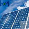 Verre solaire de bas arc Tempered de fer pour le module solaire