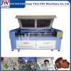 a máquina do laser do CO2 60With80With100With130With150W para o saco acrílico da roupa da tela calç a estaca