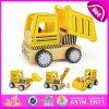 2015 Lovely Design Novos itens Toy Cartoon Truck Car, brinquedo promocional Kids Wooden Truck, DIY Natal Wooden Children Truck W04A149
