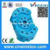 Mini plastique Rail DIN Mouting électrique Socket relais avec CE