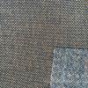 Le textile 100% à la maison de polyester de toile décoratif de tissu a enduit du support