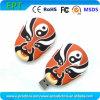 Lecteur flash USB facial personnalisé de mémoire de forme de renivellement (ET016)