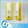 Seitlicher Stützblech-Packpapier-Kaffee-Beutel mit Ventil