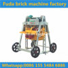 Fuda mobile hohle Block-Maschinen-manuelle Ziegelstein-Maschine