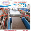Extrusion en plastique de plancher de profil du PE WPC faisant la machine