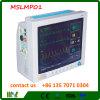 Máquina del Muti-Parámetro ECG/monitor paciente Mslmp01
