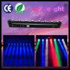 lumière mobile de balayage de la tête LED de faisceau de 8X10W 4in1 RGBW de barre linéaire de rotation