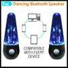 Волшебный цветастый диктор Bluetooth вибрации воды танцы СИД светлый