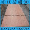 madera contrachapada laminada del cedro de lápiz de 18m m para el encofrado