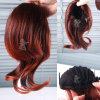 Estensione sintetica dei capelli del Ponytail di Kanekalon del giapponese di 100%