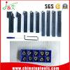 Trousse d'outils courante réglée d'outil de carbure de commande numérique par ordinateur jeux/extrémités de 9 parties