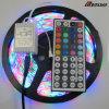 3528SMD RGB impermeabile con gli indicatori luminosi di striscia a distanza di IR LED