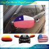 Chaussettes nationales de miroir de voiture du Chili de polyester de Spandex (B-NF13F14022)