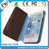 Titular de cuero de la PU cubierta de la caja cubierta del teléfono móvil para iPhone