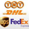 De internationale Uitdrukkelijke/Dienst van de Koerier [DHL/TNT/FedEx/UPS] van China aan Andorra