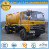 Dongfeng 6은 트럭 15 톤 흡입 하수 오물 15 Kl 진공 트럭 선회한다