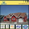 Chalet de acero ligero certificado ISO9001 de acero del SGS de la BV de la estructura